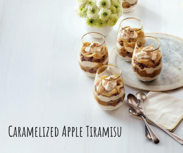 Caramelized Apple Tiramisu