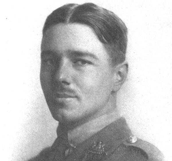 First World War poet Wilfred Owen, treated for shell shock, carried readers into the horror of war